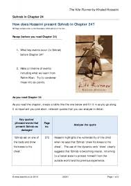 the kite runner by khaled hosseini prose key stage english 1 preview