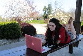 warm sunny weather makes outdoors ideal workplace local warm sunny weather makes outdoors ideal workplace