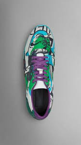 The Field Sneaker in Book Cover Print <b>Leather Bright</b> Cedar Green ...