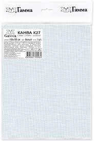 """<b>Канва</b> для вышивания <b>Gamma</b> """"<b>Linda</b>"""", цвет: белый, 150 х 100 см ..."""