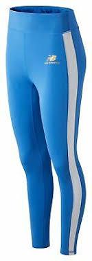 New Balance Women's <b>NB Athletics Podium</b> Legging Blue   eBay