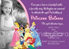 disney princesses birthday invitations disney princess birthday disney princesses birthday invitations printable