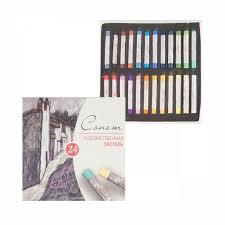 <b>Набор художественной пастели</b> 24 цвета Сонет, купить в ...