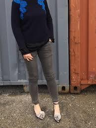 Blue <b>lace applique</b> sweater - Some Pop of Color