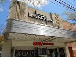 th street northwest net midnight rider macarthur theater cvs 4859 macarthur boulevard northwest washington dc opened 1946 style art deco