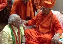 சுவாமி அத்மஸ் தானந்தாவை, பிரதமர் மோடி நேரில் சந்திக்கவுள்ளார்