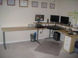 entrancing best home office computer desk design with white wooden outstanding galant megadesk ikea hackers underside best home office computer