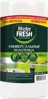 Универсальные полотенца <b>Master FRESH</b> в рулоне 100 шт ...