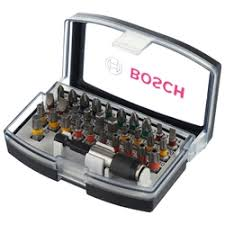 «<b>Набор бит bosch</b> colored promoline, <b>32 шт</b>» — Биты для ...