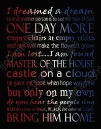 Les Misérables on Pinterest | Les Miserables, On My Own and Eddie ...