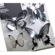 <b>Декор для стен</b> Umbra <b>Chrysalis</b> Black «Тропические бабочки ...