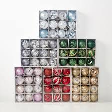 SJ 6cm Multicolor Christmas Balls Christmas Tree Decorations <b>New</b> ...