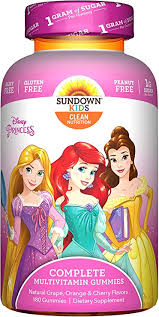 Sundown Kids Disney Princess Complete Multivitamin ... - Amazon.com