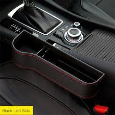 <b>Car</b> & Truck Parts <b>1Pcs</b> Black <b>Car</b> Seat Gap Storage Box Crevice PU ...