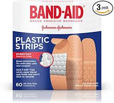 Band-Aid Brand Adhesive Bandages, Plastic Strips ... - Amazon.com