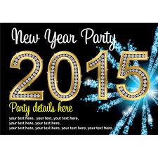 personalised new year s eve party invitations buzz invites personalised 2015 new year s eve party invitations