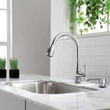 premium kitchen faucet stainless steel