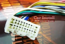toyota oem stock premium factory radio w amp wire harness 2000 oem stock factory radio wire harness