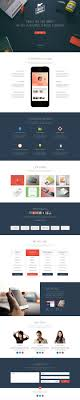 35 single page website template psd creativecrunk liberty one page template psd