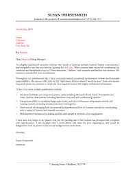 example of administrative assistant cover letters template example of administrative assistant cover letters