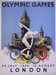 「1948, 14th summer olympic in london」の画像検索結果
