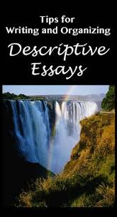 tips for writing a descriptive essay   literature  writing and tipswriting and organizing descriptive essays   secondary solutions