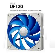 <b>DEEPCOOL UF 120</b> Ultra Silen Fan W/ de-Vibration TPE Cover ...