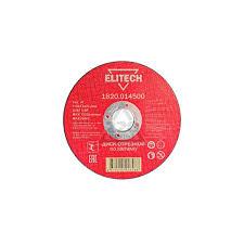 Круг <b>отрезной Elitech 1820.014500</b> - купить, цена и фото в ...