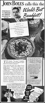 best images about retro breakfast foods women quaker puffed wheat ceral better homes gardens 1936