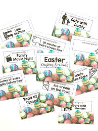 printable easter coupons for kids i can teach my child the easter coupons here