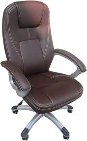 <b>Luxury</b> Executive Leather Office Home Study Computer <b>Desk Chair</b> ...
