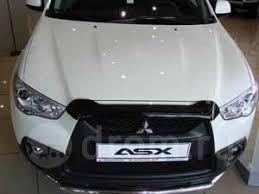 <b>Дефлектор капота</b> Mitsubishi ASX Митсубиши ASX 2010-2013 г ...