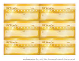 printable gift voucher templates blank gift vouchers gift voucher templates