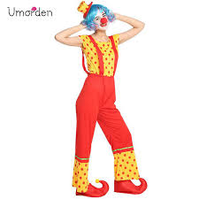 <b>Umorden Purim Carnival Halloween</b> Party Circus Clown Costumes ...