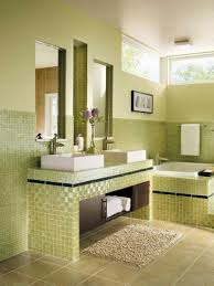 astounding green glass tiles square patterned backsplash for modern small bathroom design with double double ceramic astounding small bathrooms ideas astounding bathroom