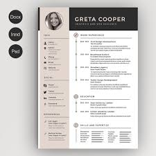creative resume templates you won t believe are microsoft word clean cv resume ii