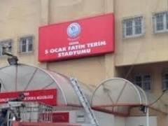 Adana 5 Ocak stadına Fatih Terim'in adı verildi