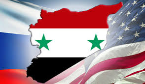 Image result for SYRIA-USA FLAG