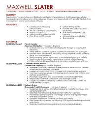 trucking resume driver trucking resume occupational examples doc7911024 resume examples sample trucking resume