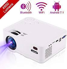 <b>Mini Projector HD</b> 1080P Portable <b>DLP Projector</b> Supports Bluetooth ...