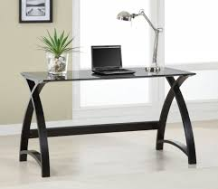 Cool Glass Home Office Desk Luxury Design Contemporary And  T