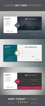 gift certificate shops gift vouchers and stationery modern gift card certificate template is best suitable for promoting your business product or services you can offer by using different terms like