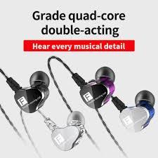 <b>QKZ CK9</b> In Ear <b>Headphone</b> 3.5 mm Jack Ear <b>Earphone</b> Stereo ...