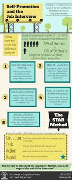 career infographics to help land your dream job how to self promote yourself at interview