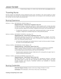 nurse student resume template cipanewsletter example of nurse curriculum vitae