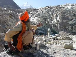Image result for image naked sadhu in tibet mountains