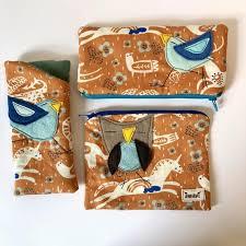 Organic <b>Cotton Eyeglass</b> and Zipper cases pouch felt | Etsy