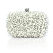 <b>Luxury</b> / Gorgeous White Clutch <b>Bags</b> Beading <b>Pearl</b> Rhinestone ...