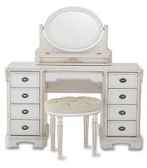 furniture classic small white vanity adorable vintage home office desk great