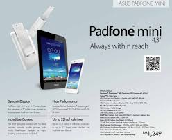 ASUS PadFone mini 4.3 listed at RM1,249 in Malaysia, with ...